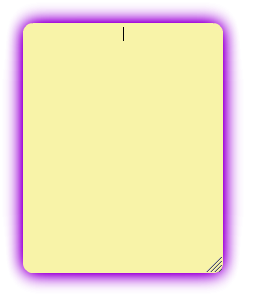 a new blank note